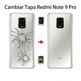 Cambiar Tapa Trasera Xiaomi Redmi Note 9 Pro