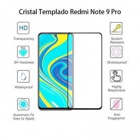 Cristal Templado Xiaomi Redmi Note 9 Pro