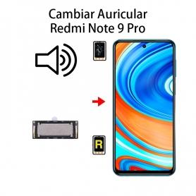 Cambiar Auricular De Llamada Xiaomi Redmi Note 9 Pro