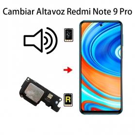 Cambiar Altavoz De Música Xiaomi Redmi Note 9 Pro