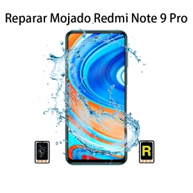 Reparar Mojado Xiaomi Redmi Note 9 Pro
