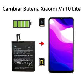 Cambiar Batería Xiaomi Mi 10 Lite