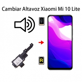 Cambiar Altavoz De Música Xiaomi Mi 10 Lite