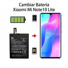 Cambiar Batería Xiaomi Mi Note 10 Lite