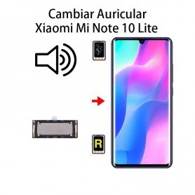 Cambiar Auricular De Llamada Xiaomi Mi Note 10 Lite
