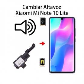 Cambiar Altavoz De Música Xiaomi Mi Note 10 Lite