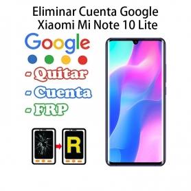 Eliminar Cuenta Google Xiaomi Mi Note 10 Lite