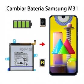 Cambiar Batería Samsung Galaxy M31