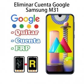Eliminar Cuenta Google Samsung Galaxy M31