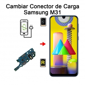 Cambiar Conector De Carga Samsung Galaxy M31