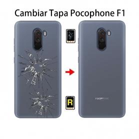 Cambiar Tapa Trasera Pocophone F1