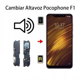Cambiar Altavoz De Música Pocophone F1