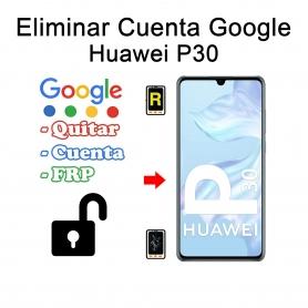 Eliminar Cuenta Google Huawei P30