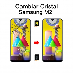 Cambiar Cristal Samsung Galaxy M21