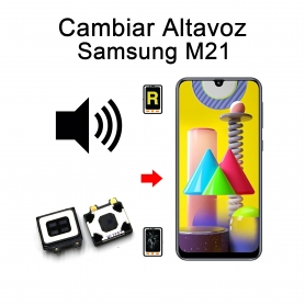 Cambiar Altavoz De Música Samsung Galaxy M21