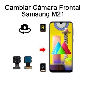 Cambiar Cámara Frontal Samsung Galaxy M21