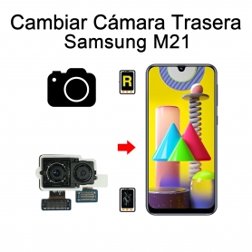Cambiar Cámara Trasera Samsung Galaxy M21