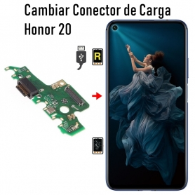 Cambiar Conector De Carga Honor 20