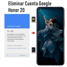 Eliminar Cuenta Google Huawei Nova 5T