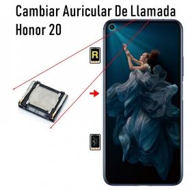 Cambiar Auricular De Llamada Honor 20