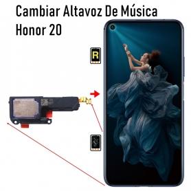 Cambiar Altavoz De Música Honor 20