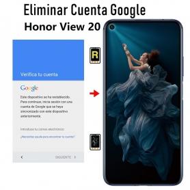 Eliminar Cuenta Google Honor View 20