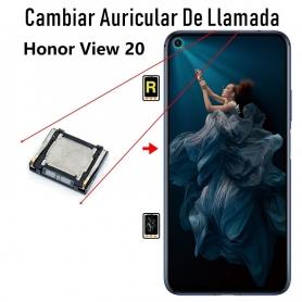 Cambiar Auricular De Llamada Honor View 20