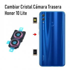 Cambiar Cristal Cámara Trasera Honor 10 Lite