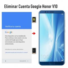Eliminar Cuenta Google Honor View 10
