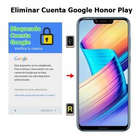 Eliminar Cuenta Google Honor Play
