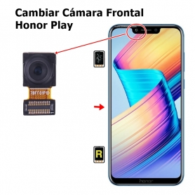 Cambiar Cámara Frontal Honor Play