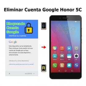 Eliminar Cuenta Google Honor 5C