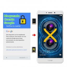 Eliminar Cuenta Google Honor 6X