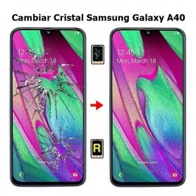 Cambiar Cristal Samsung Galaxy A40