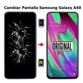Cambiar Pantalla Samsung A40 SM-A405F Original