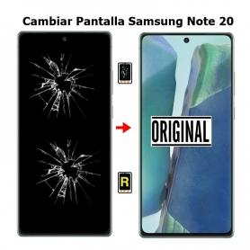 Cambiar Pantalla Samsung Note 20