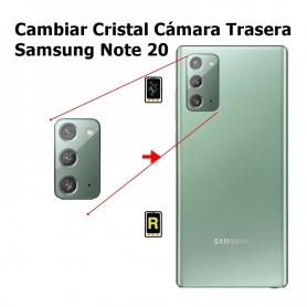 Cambiar Cristal Cámara Trasera Samsung Note 20