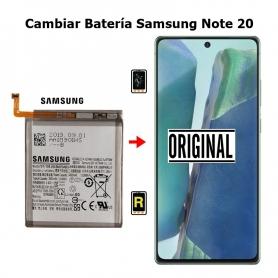 Cambiar Batería Samsung Note 20