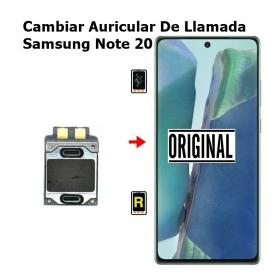 Cambiar Auricular De Llamada Samsung Note 20