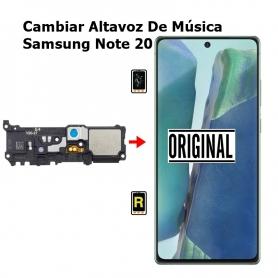 Cambiar Altavoz De Música Samsung Note 20