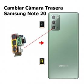 Cambiar Cámara Trasera Samsung Note 20