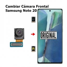 Cambiar Cámara Frontal Samsung Note 20