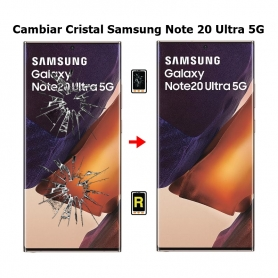 Cambiar Cristal Samsung Note 20 Ultra 5G