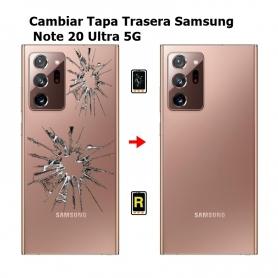 Cambiar Tapa Trasera Samsung Note 20 Ultra 5G