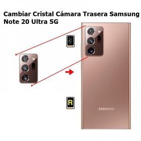 Cambiar Cristal Cámara Trasera Samsung Note 20 Ultra 5G