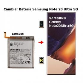 Cambiar Batería Samsung Note 20 Ultra 5G