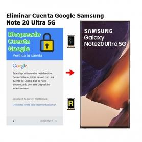 Eliminar Cuenta Google Samsung Note 20 Ultra 5G