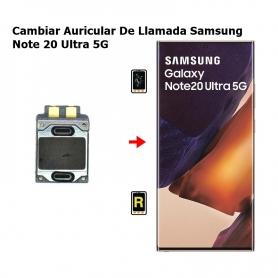 Cambiar Auricular De Llamada Samsung Note 20 Ultra 5G