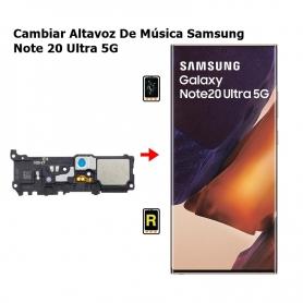 Cambiar Altavoz De Música Samsung Note 20 Ultra 5G