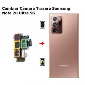 Cambiar Cámara Trasera Samsung Note 20 Ultra 5G